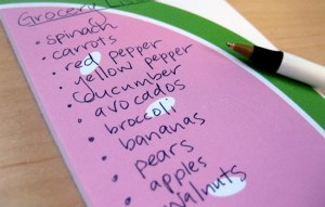 Healthy Food Checklist