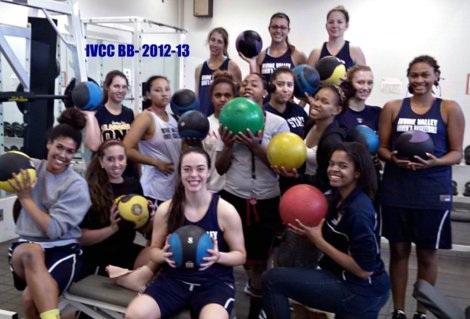 IVCC Women's BB 2012-13