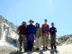 Family in the Sierras